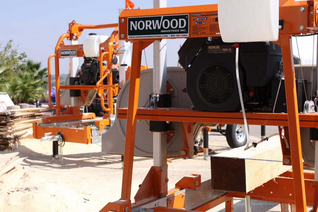 New personal bandsaw mill from Norwood Sawmills - Wood Business