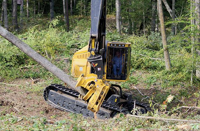 26 Tigercat 5195