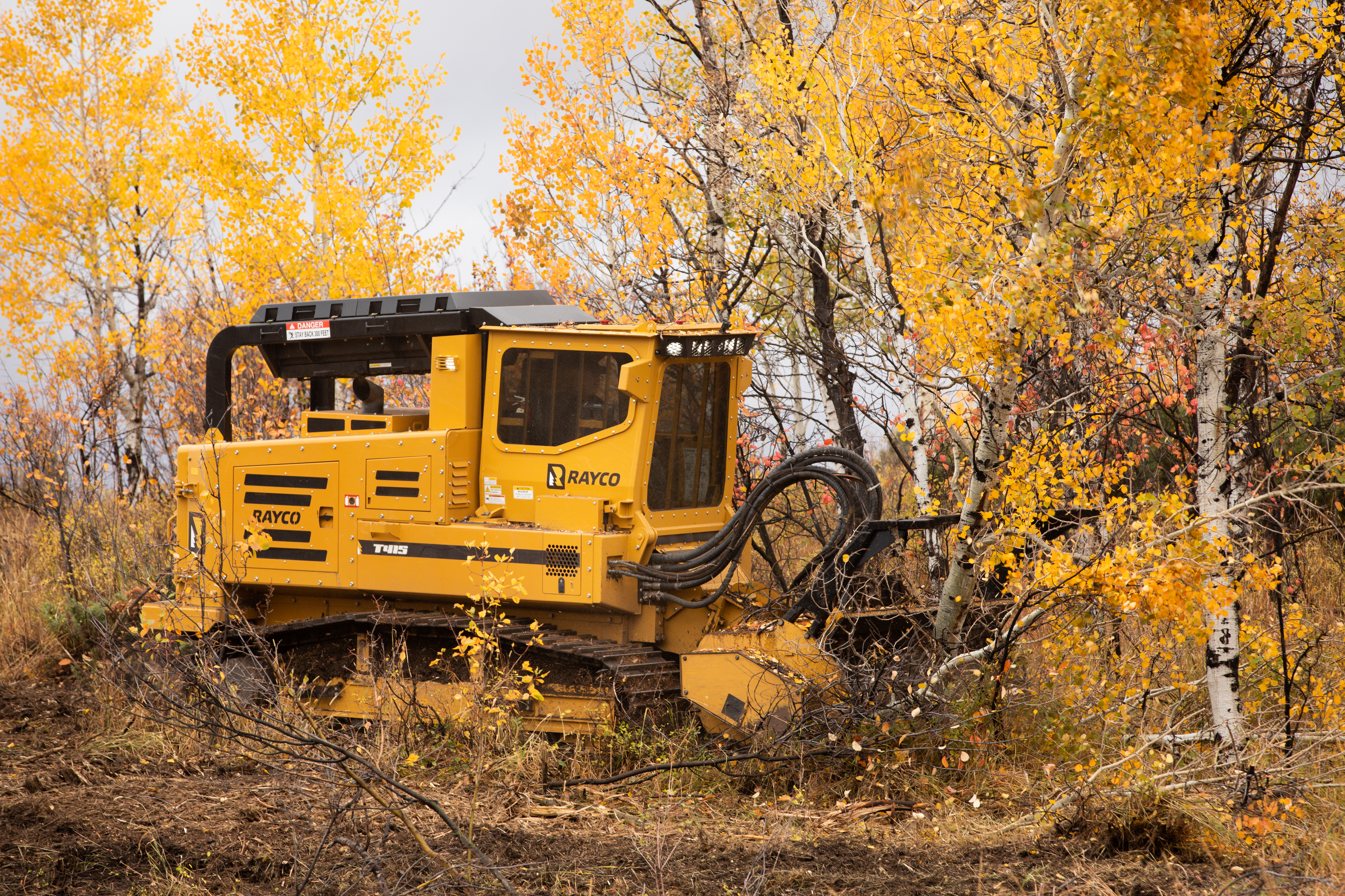 Morbark introduces new Rayco forestry mulcher and Hydra