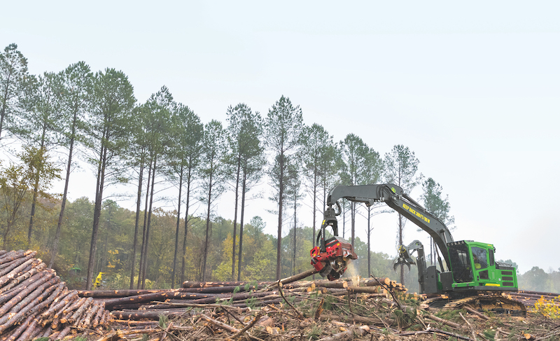 U.S. loggers reap the benefits with cut-to-length processing heads