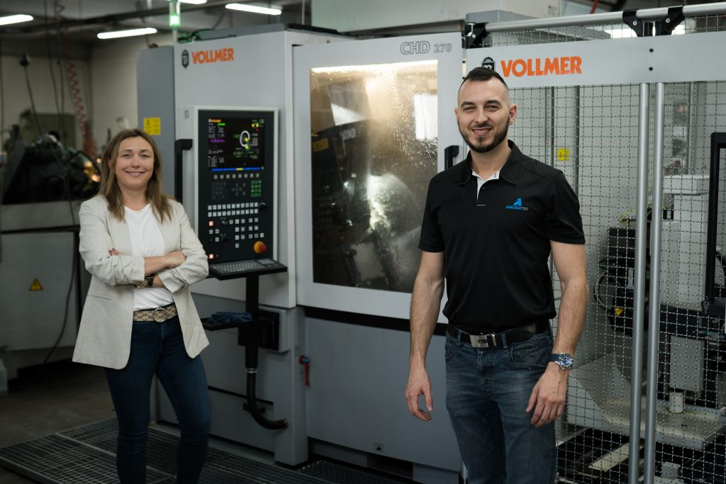 Vollmer equipment helps saw sharpening business operate through pandemic